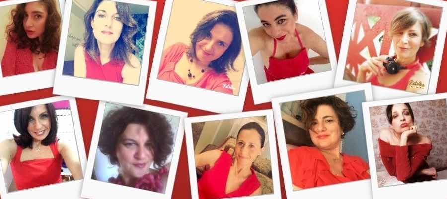 collage red